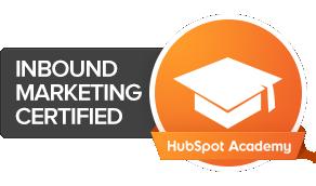 HubSpot Inbound Marketing Cert Image