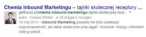 chemia inboud marketingu google