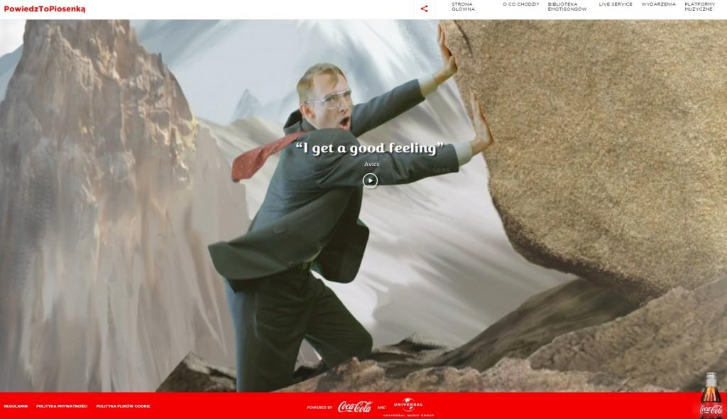 coca cola marketing tresci
