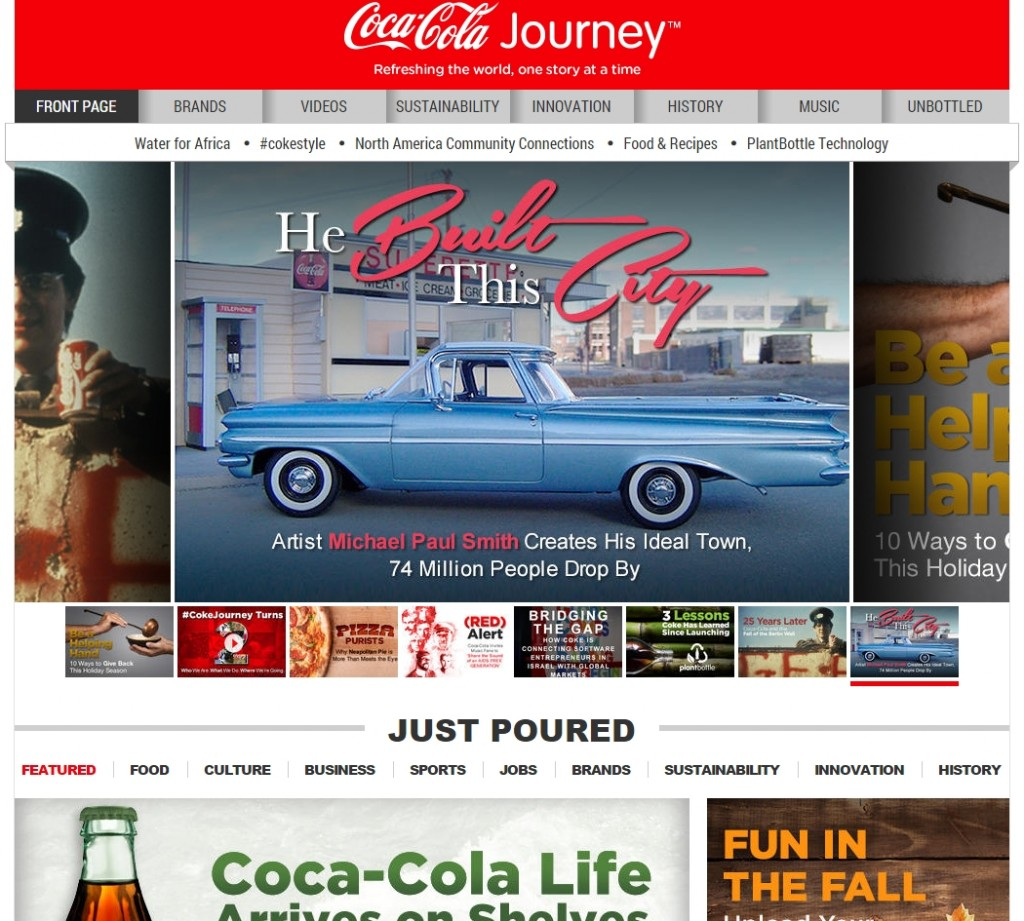 coca cola strategia marketingowa