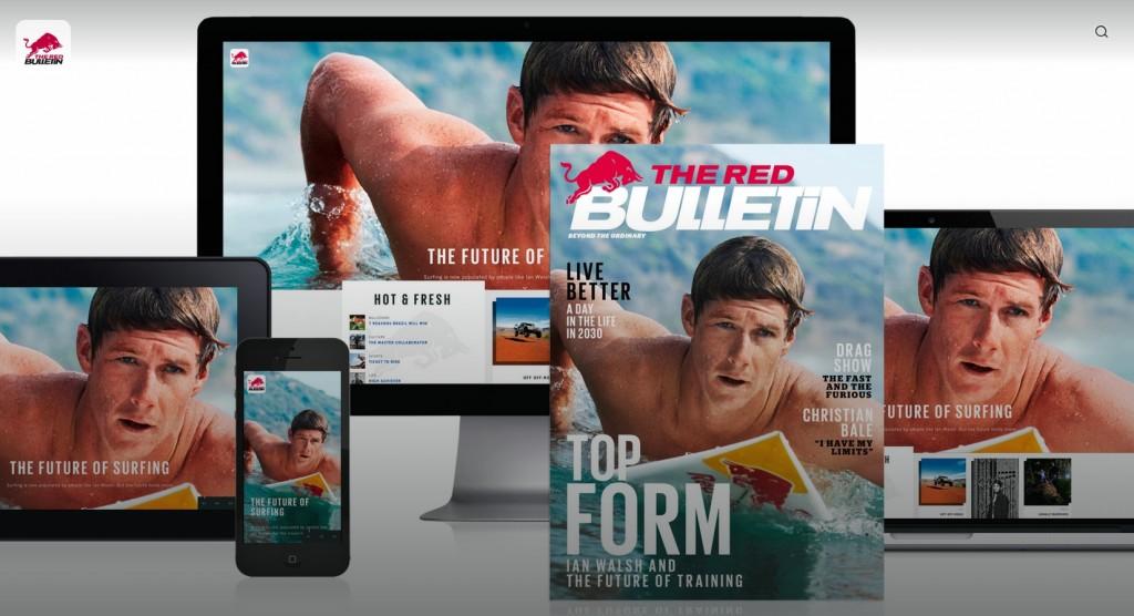 redbull magazyn
